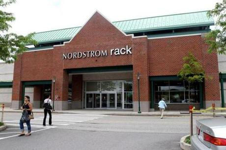 Nordstrom has a Rack location in Framingham (above) as well as in Danvers and Burlington.
